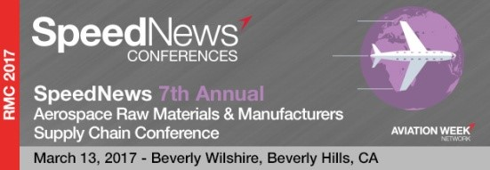 7th Annual Aerospace Raw Materials & Manufacturers Supply Chain Conference